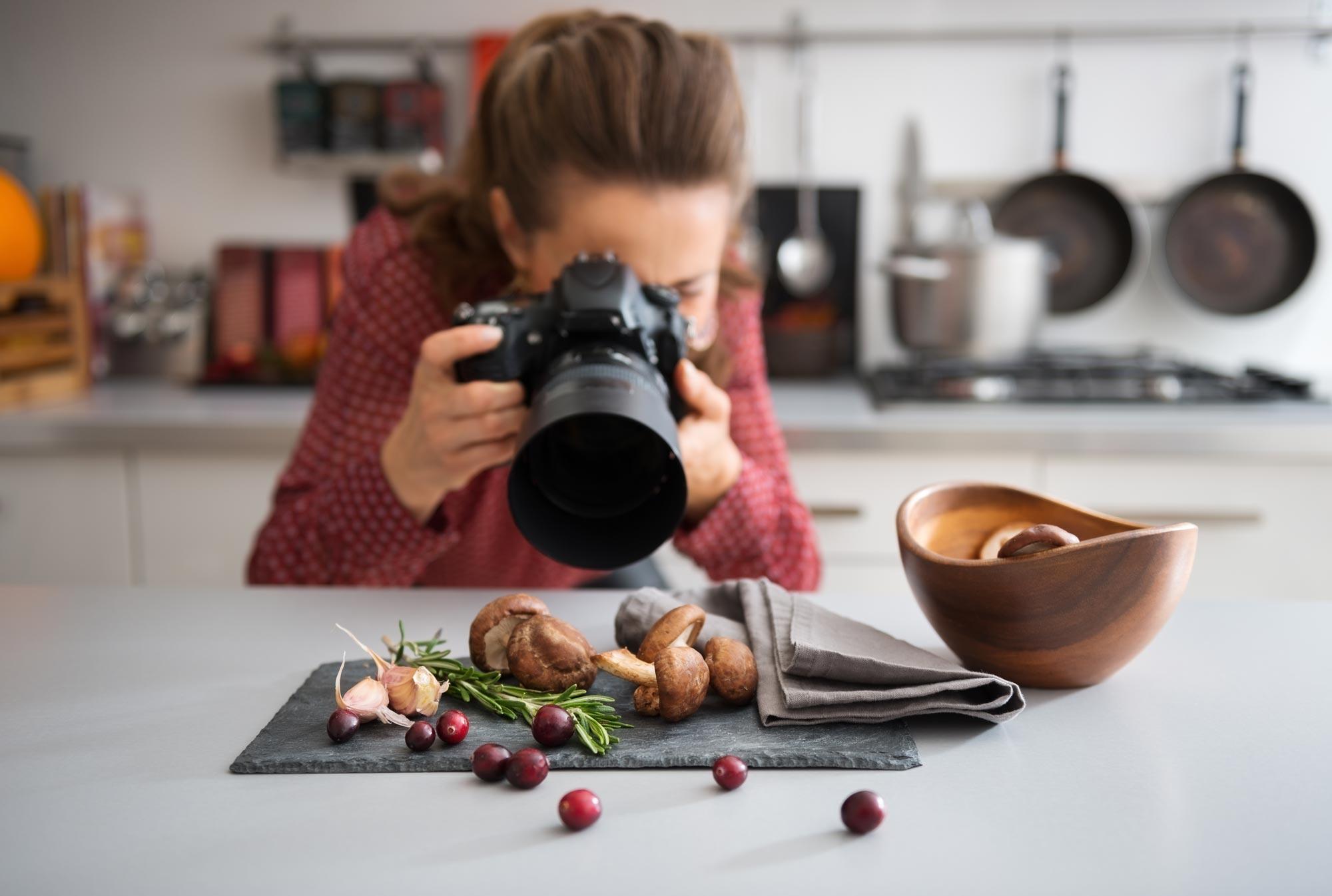 Jak fotit jídlo