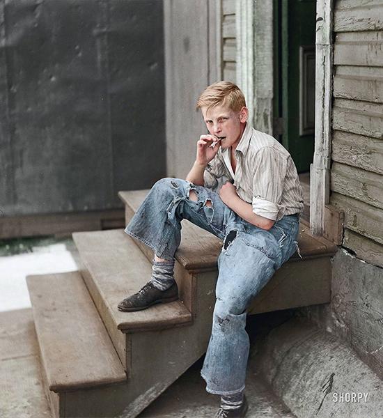 Mladý muž z Baltimoru. Rok 1938