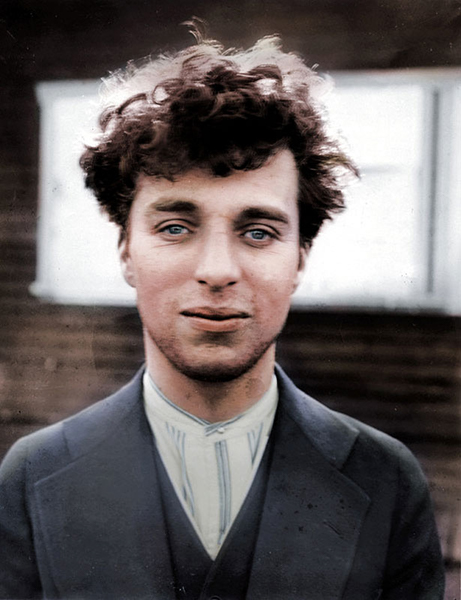 Charlie Chaplin ve 27 letech
