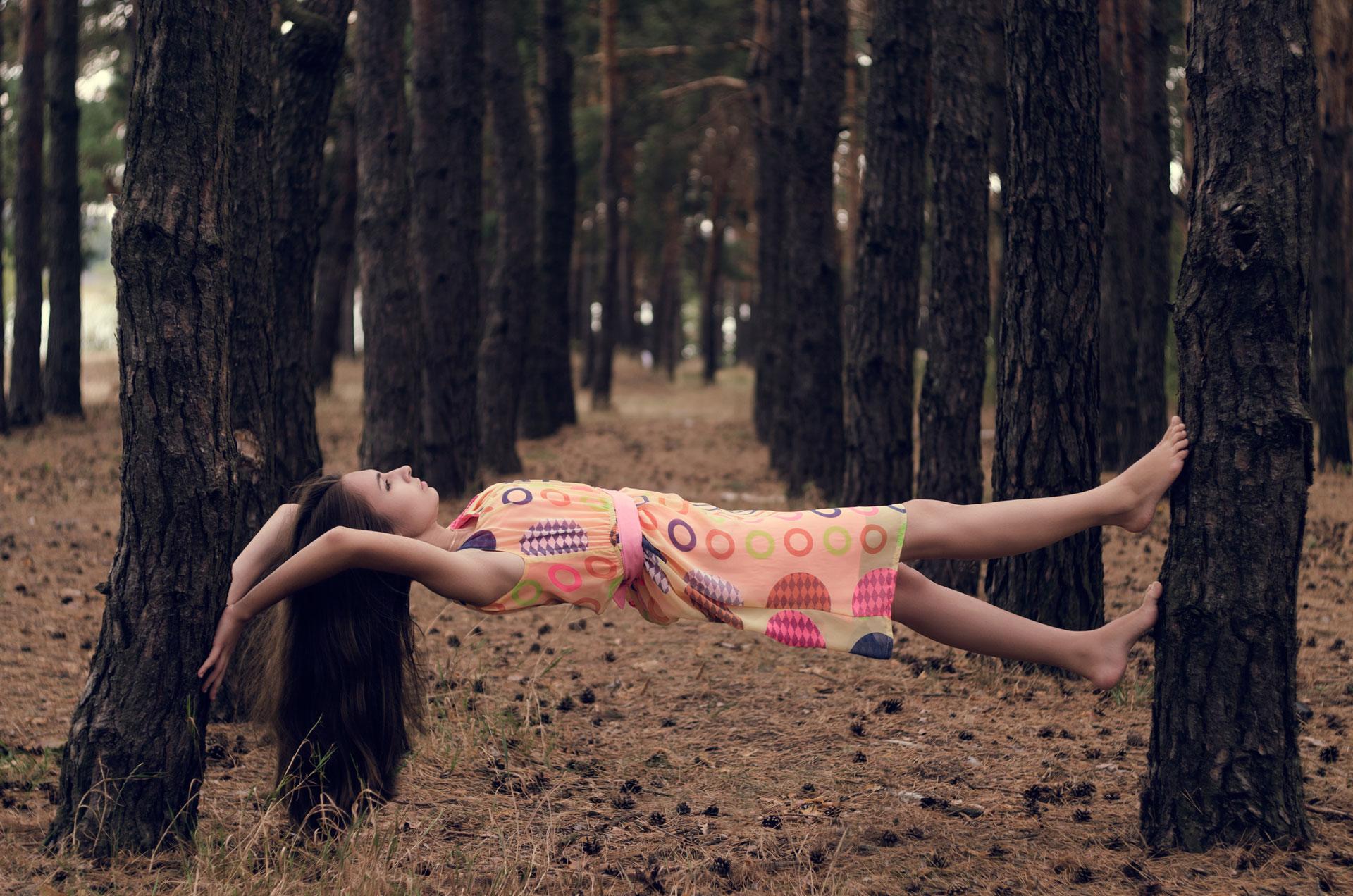Jak fotit levitaci