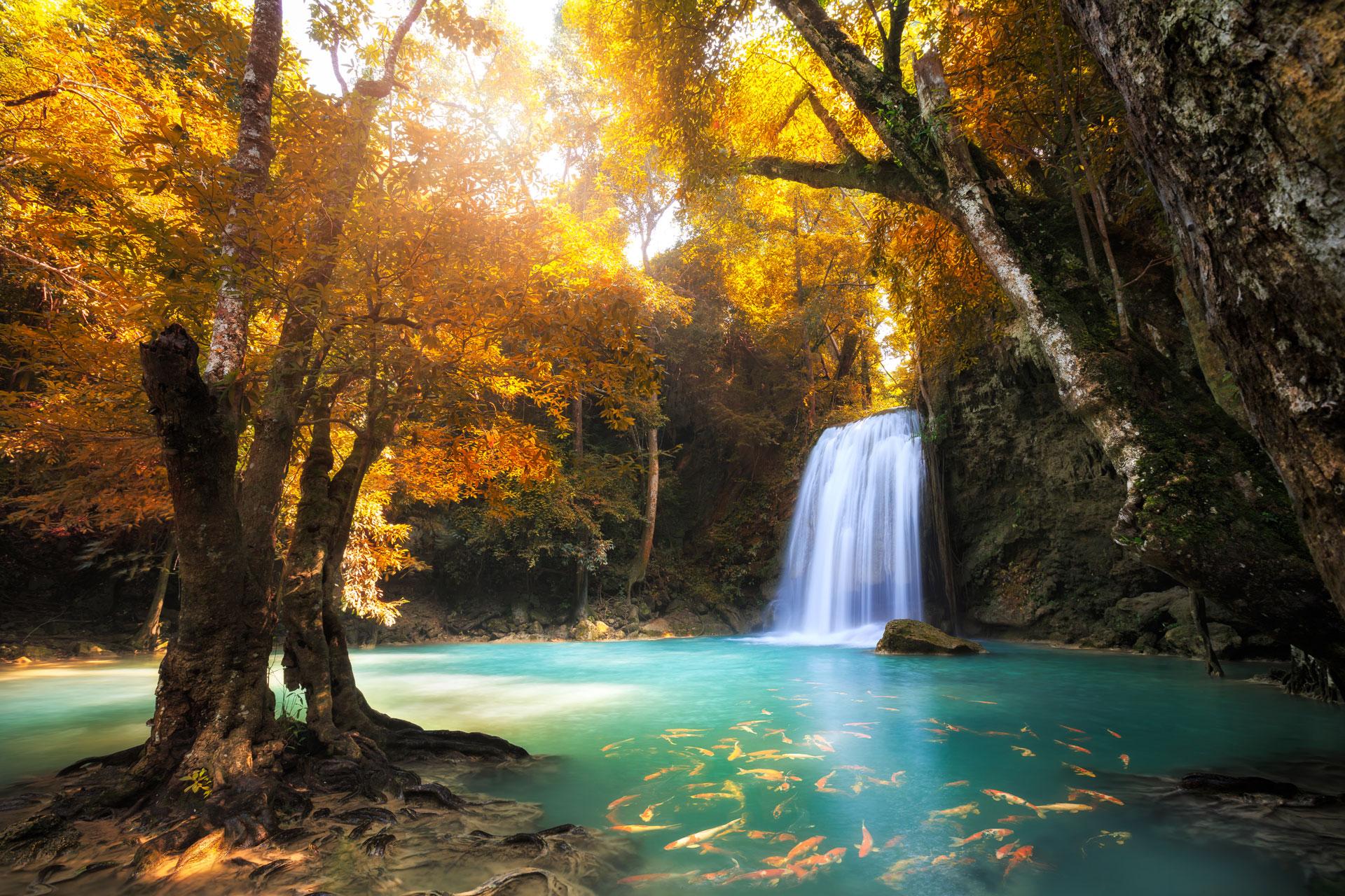 Jak fotit vodopády