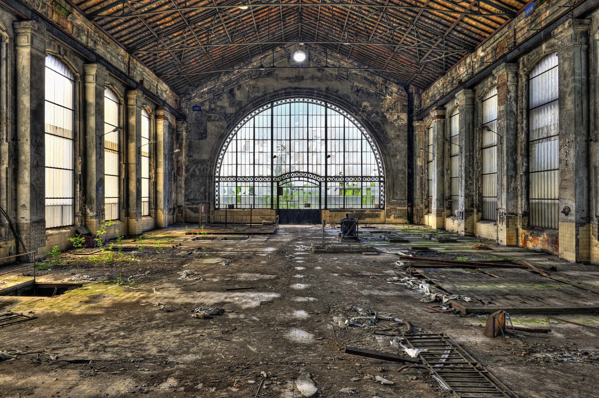 Jak fotit v průmyslové zóně