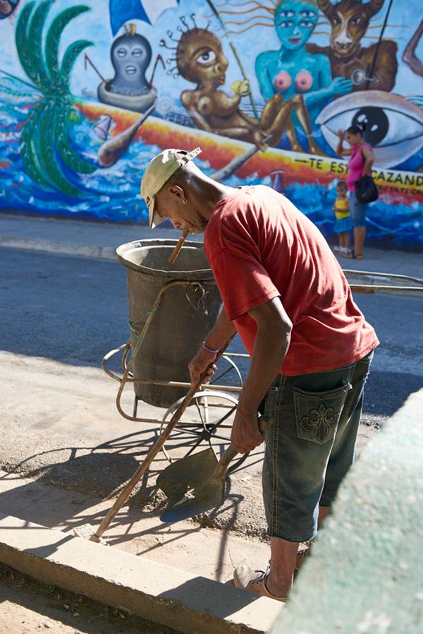 Kuba prodavač