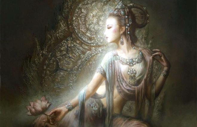 Bohyně Kuan-jin