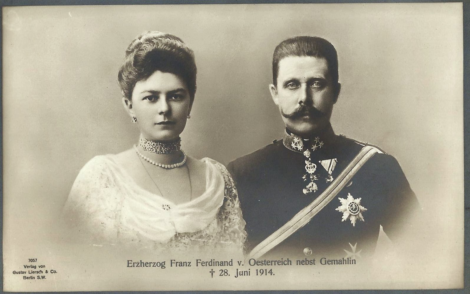 František Ferdinand a Žofie Chotková