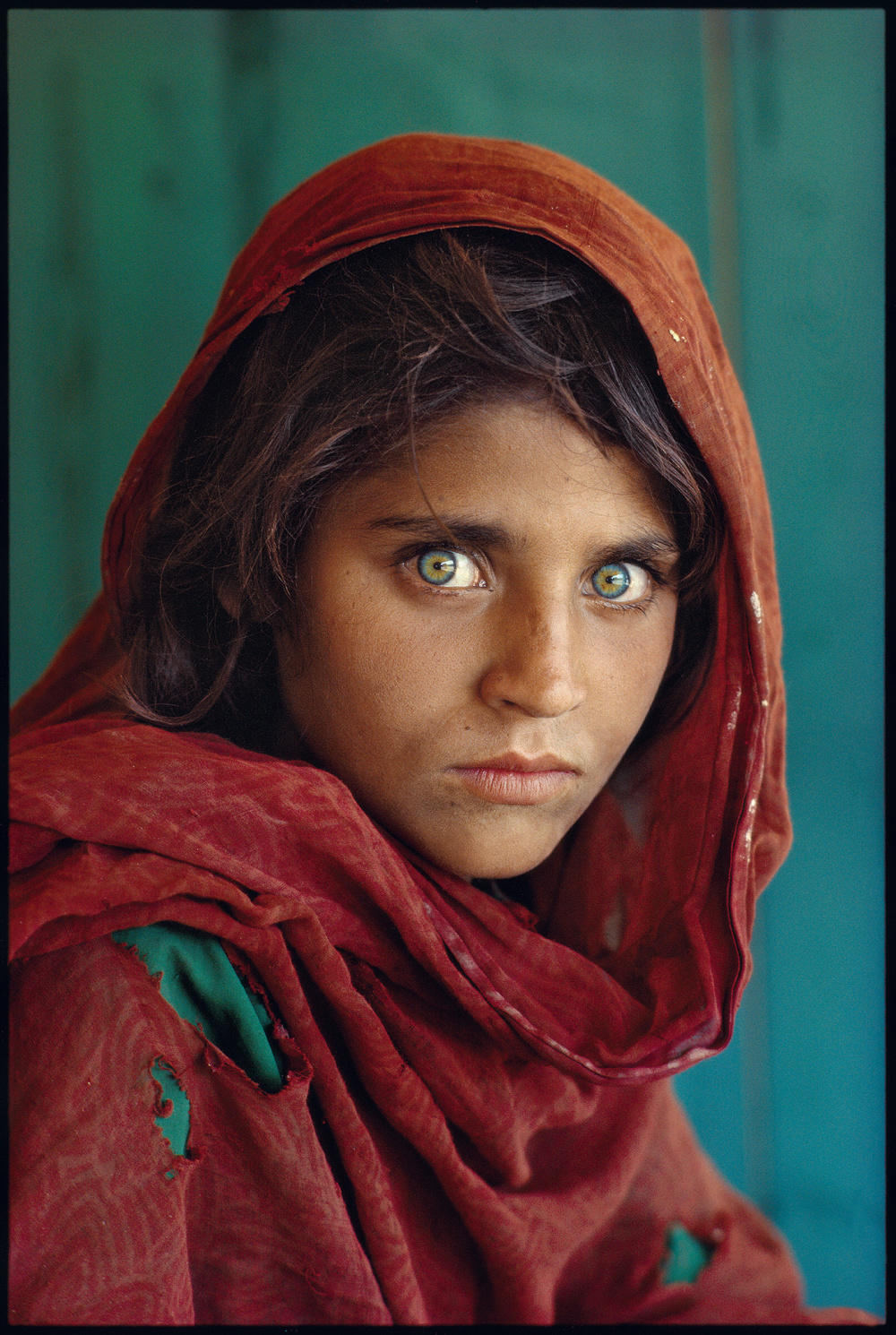 Afghánská dívka