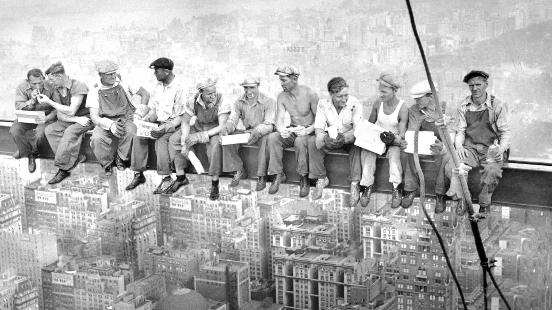 Oběd na vrcholku mrakodrapu